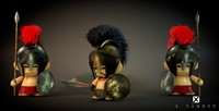 3d model toy munny