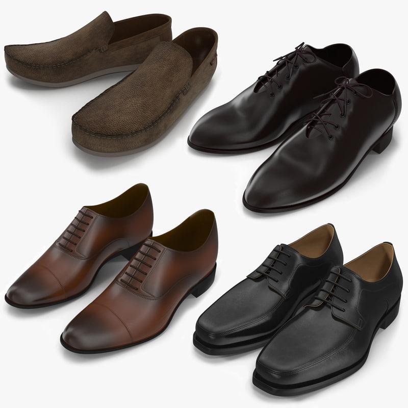 3d man shoes