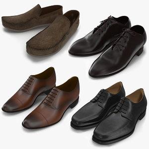 man shoes 3d max