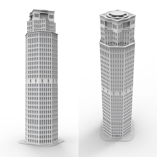 3d skyscraper model