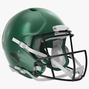 3d football helmet 3 generic model