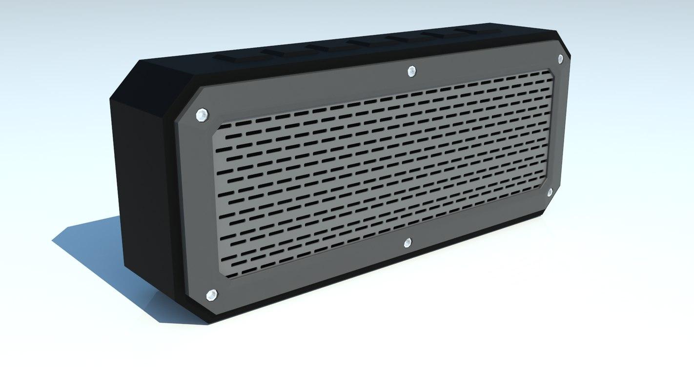 3d speaker bluetooth matte
