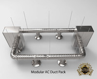 Modular AC Duct Pack