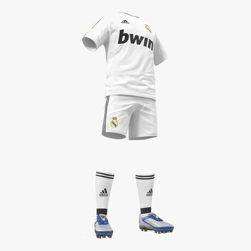 soccer clothes real madrid 3ds