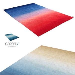 cc-tapis tye n dye 3d model