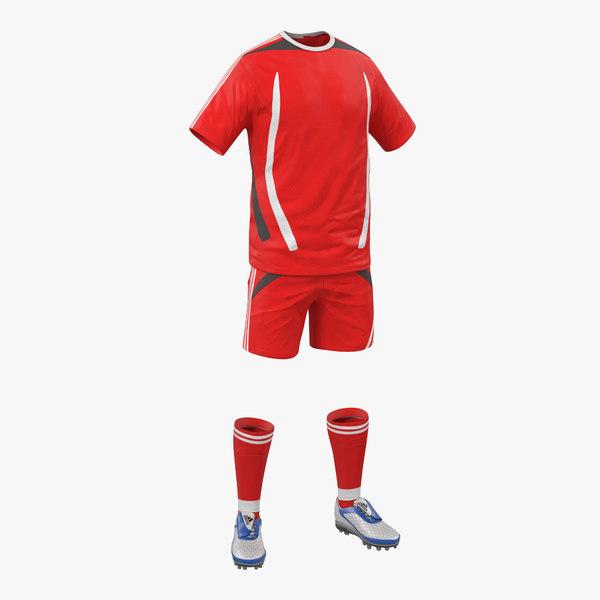 soccer clothes generic 3d max