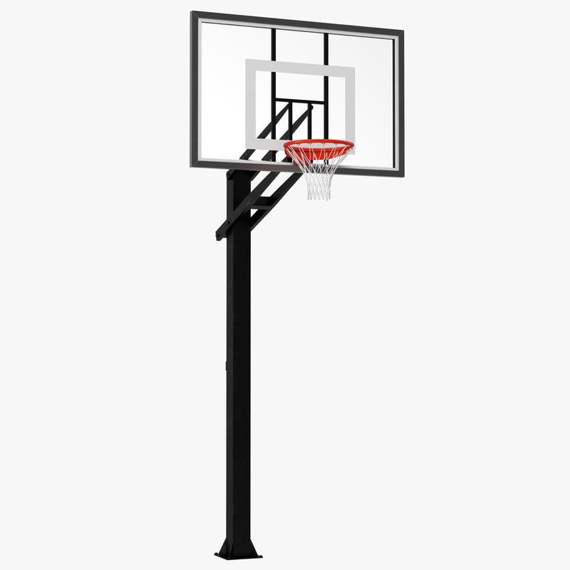 3ds max basketball hoop 4