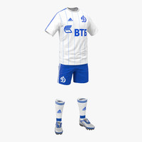 3ds max soccer clothes dynamo