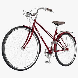 3d max bicycle linus mixte