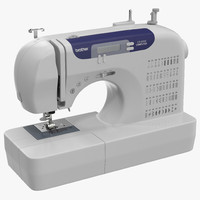 sewing machine brother 3d model