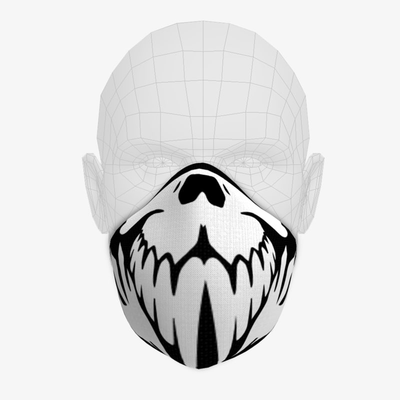 maskull mask skull 3d model
