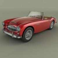1962 austin-healey 3000 mk2 max