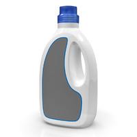 detergent bottle 3d c4d