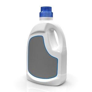 detergent bottle c4d