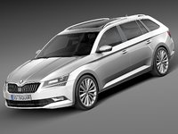 Skoda Superb Kombi 2016