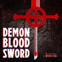 3d finn demon blood sword model