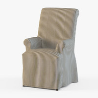 Pottery Barn Comfort Slipcovered Armchair