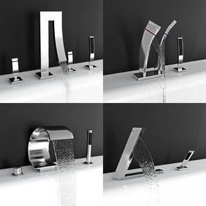 3d design faucets model