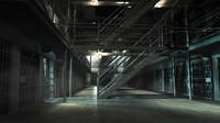 scene prison 3d 3ds