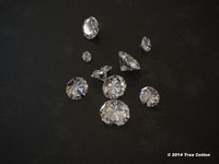 diamonds photoreal 3d model