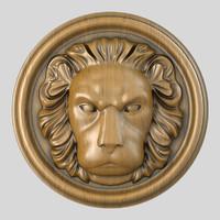Lion Head Sculpture_3
