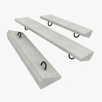 3dsmax concrete materials