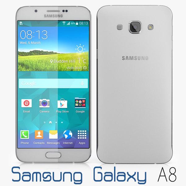 3d samsung galaxy a8 model