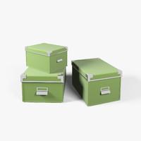 3d boxes model
