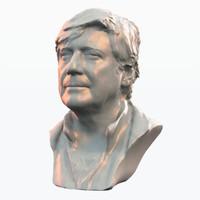 Male Head Bust
