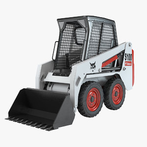 bobcat skid-steer loader 3d model