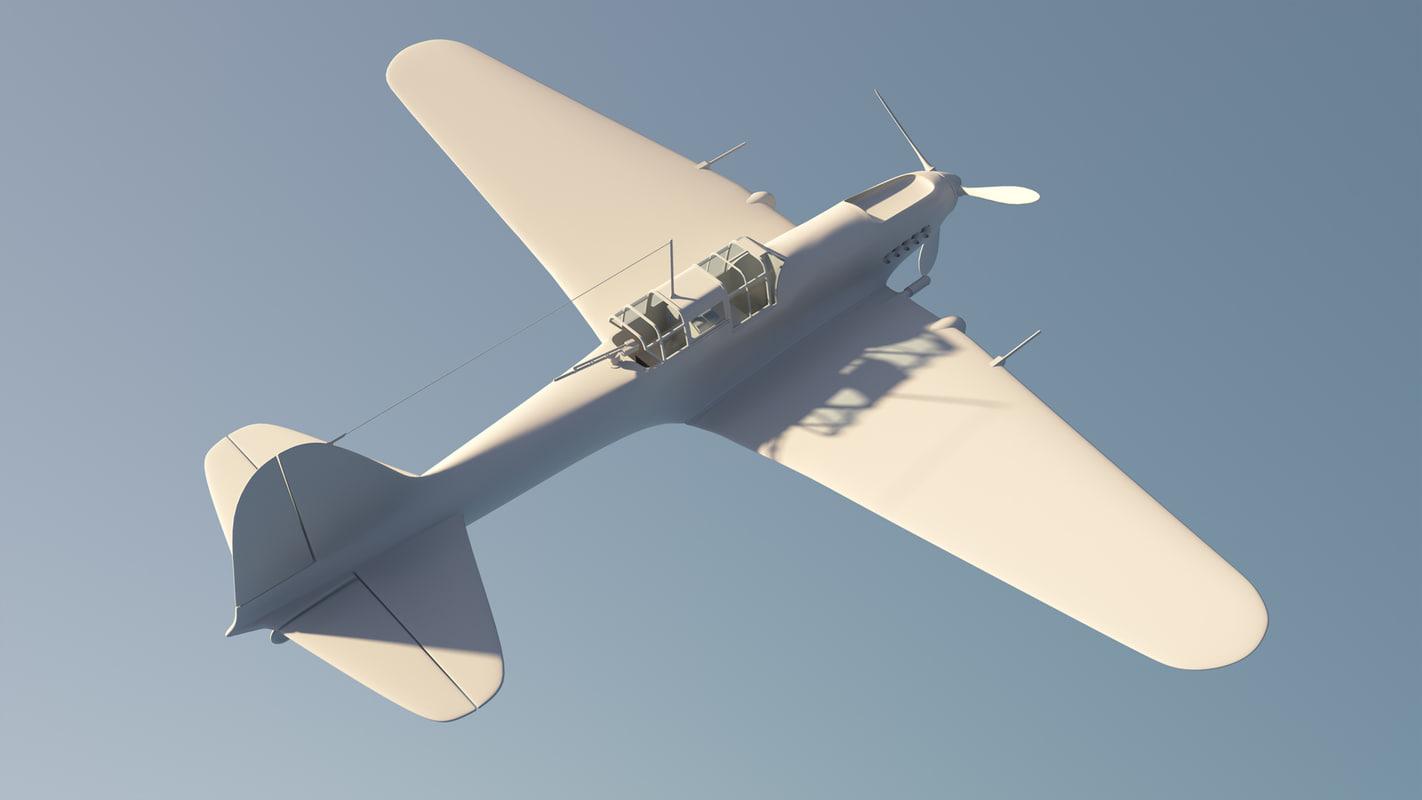 il-2 sturmovik 3d model