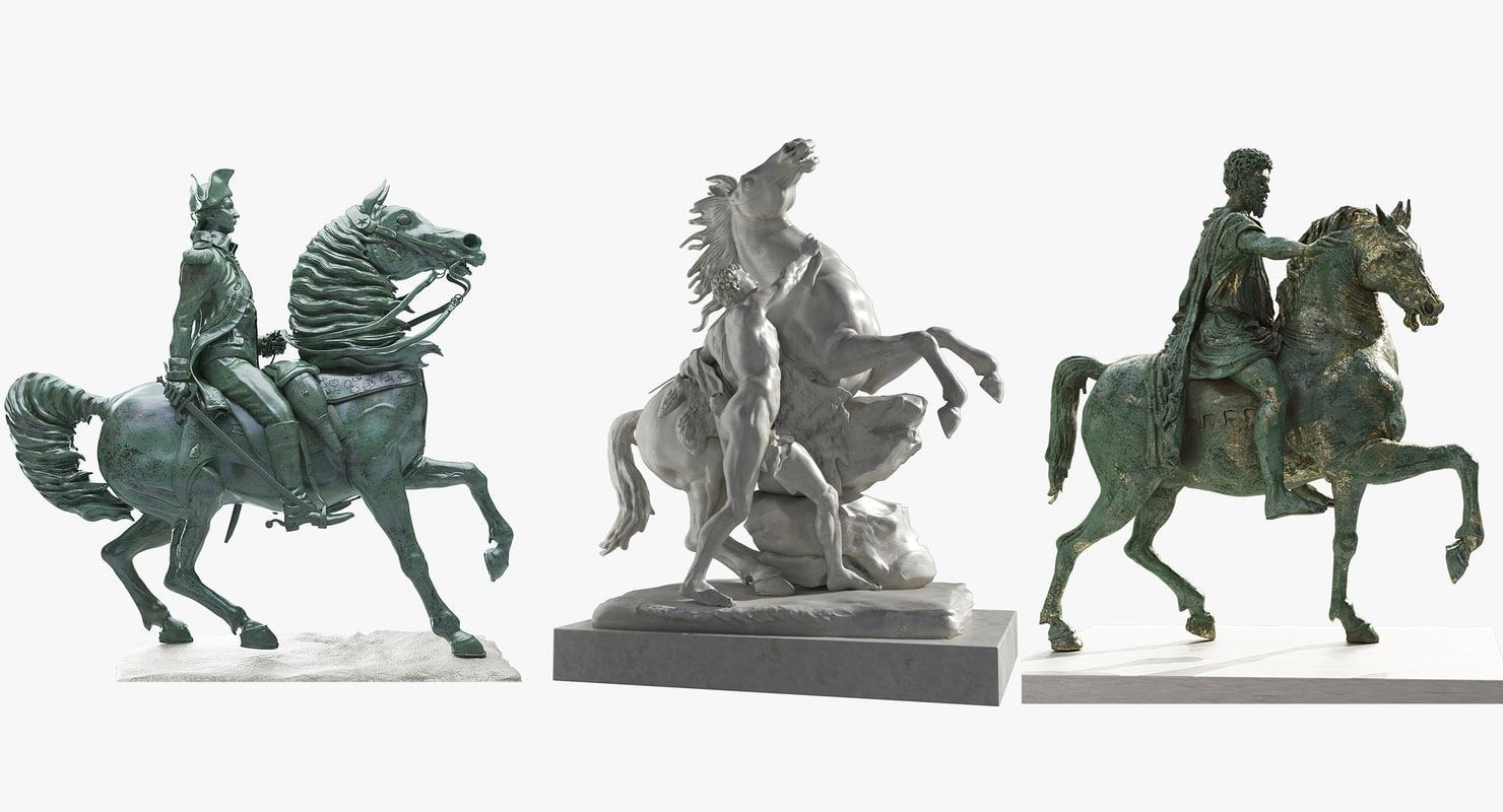statue equestrian max