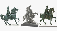 Sculpture Equestrian collection