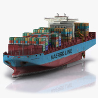 max container ship boat