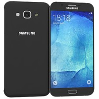 3ds max samsung galaxy a8 black