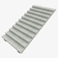 concrete staircase 2 3ds