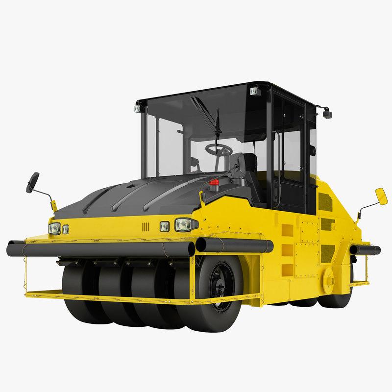 3d asphalt roller