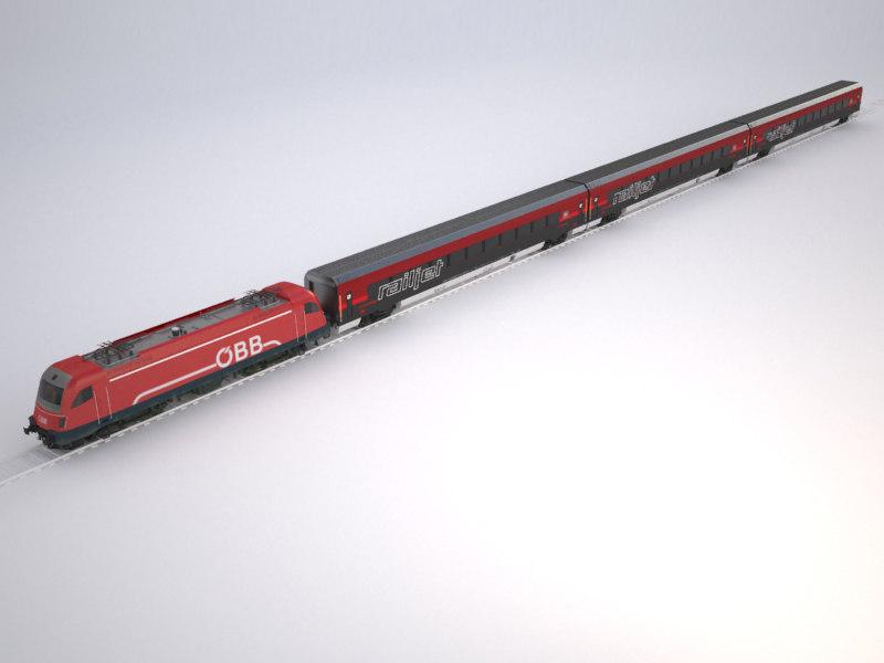 3d railjet taurus