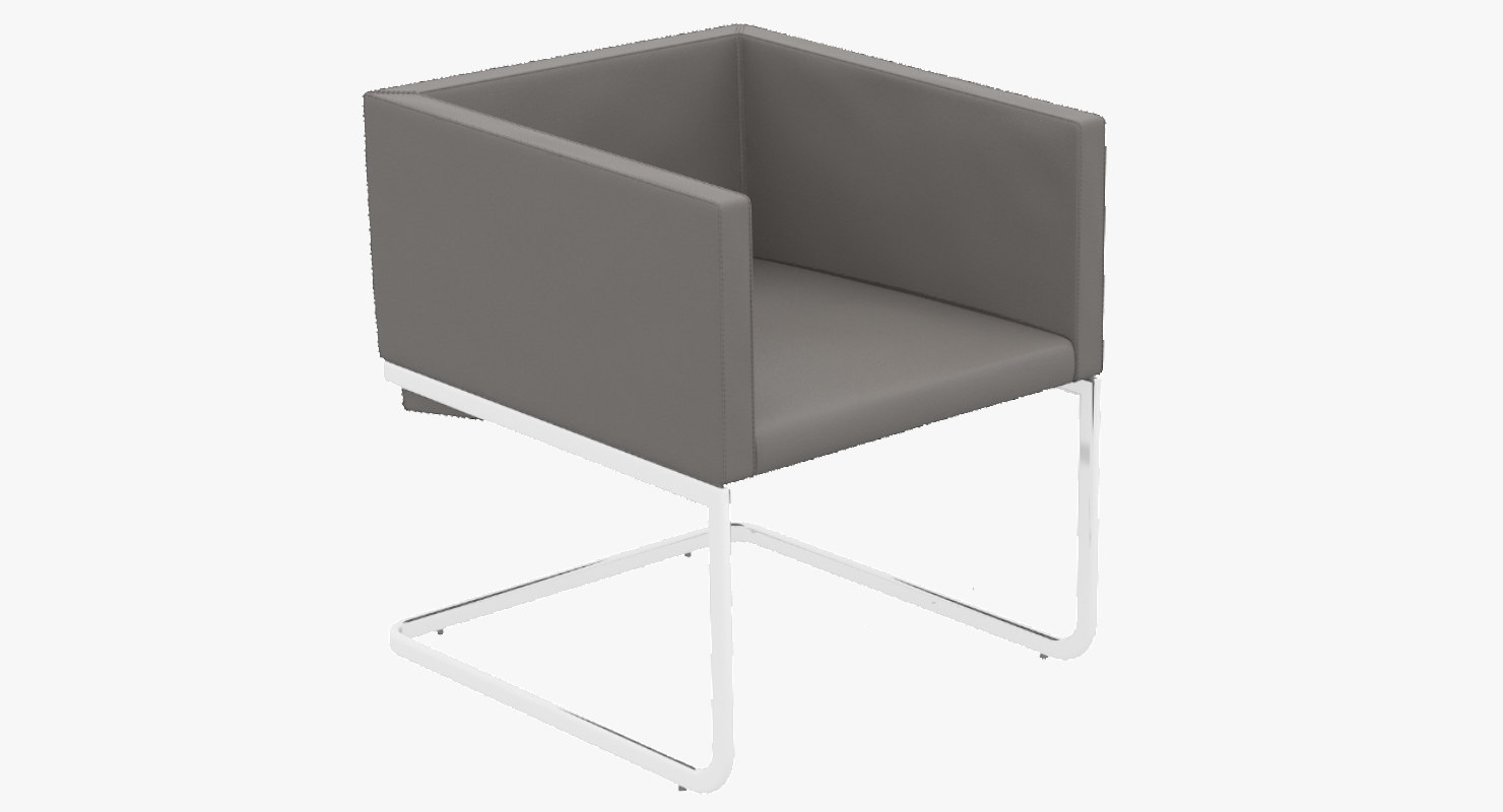 3d model ari lounge chair 1