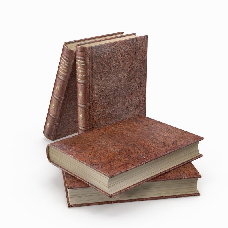 books 2 3d max