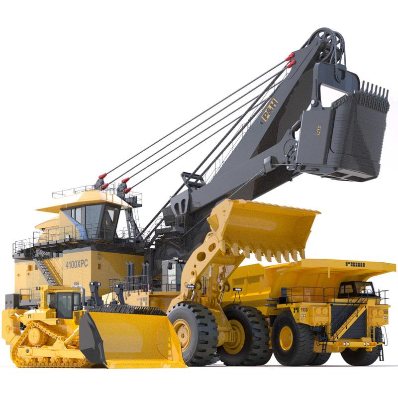 p h mining 3d model