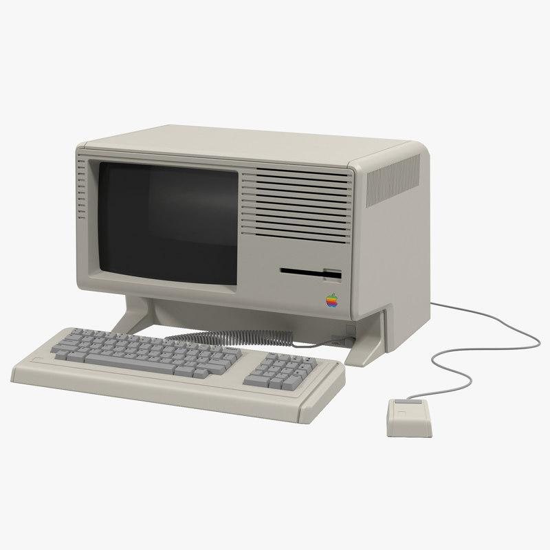 3d apple lisa model