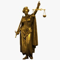 max lady justice statue