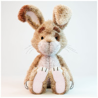 rabbit toy 3d max