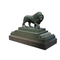 sculpture lion max