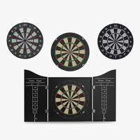 3ds dart boards