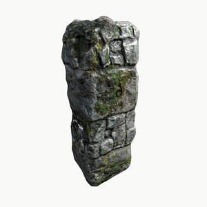 mossy stone pillar max