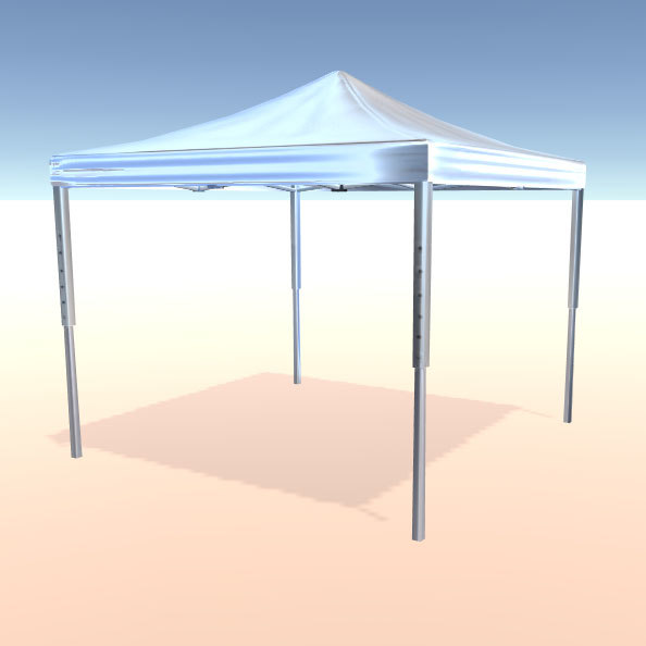 3ds max event tent