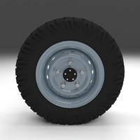 3d offroad wheel model