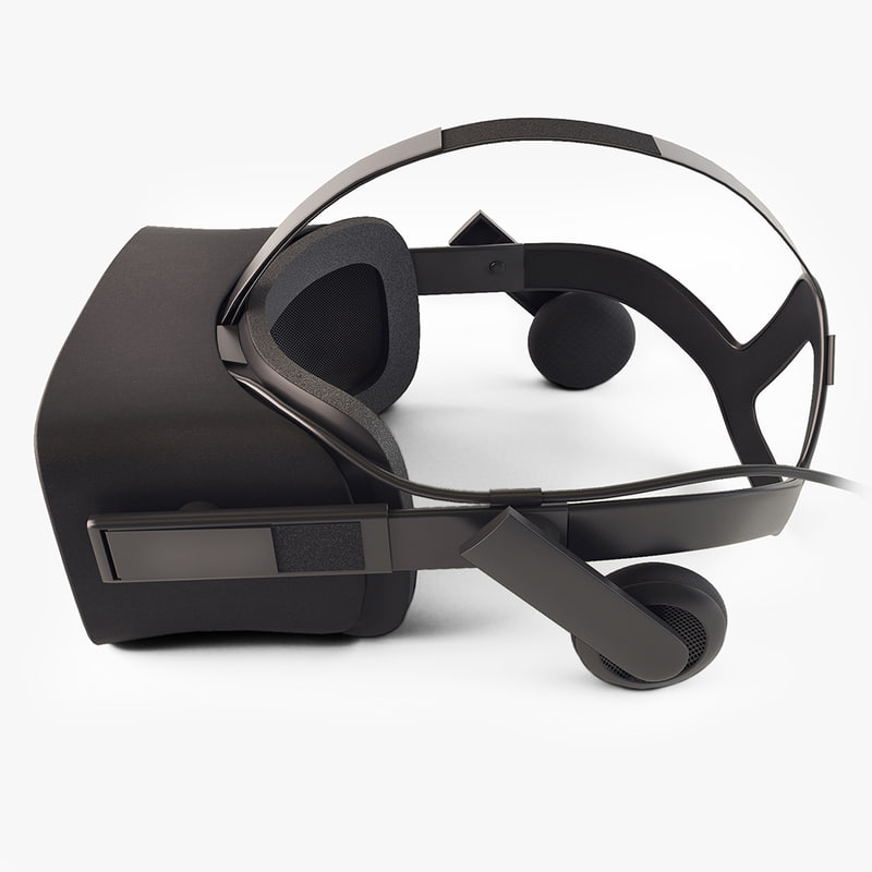 3d oculus rift virtual reality model